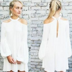 Free People | Drift Away Cold Shoulder Tunic top